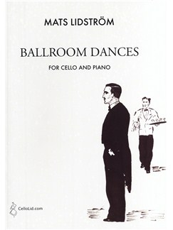 Mats Lidström: Ballroom Dances Books | Cello, Piano Accompaniment