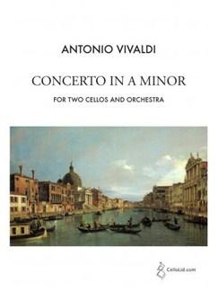 Antonio Vivaldi: Concerto In A Minor - 2 Cellos/Orchestra (Piano Reduction) Books | Cello (Duet), Piano Accompaniment (Duet)