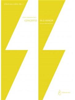 J.S. Bach: Concerto in D minor BWV 1043 (2 Cellos/Piano) Books | Cello, Piano Accompaniment
