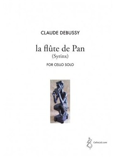 Claude Debussy: La flûte de Pan (Syrinx) - Cello Solo Books | Cello