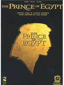 The Prince Of Egypt Books | Piano and Voice, with Guitar chord boxes