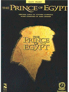 The Prince Of Egypt Easy Piano Books | Piano and Voice, with Guitar chord symbols