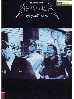 Metallica: Garage Inc. (Drums Edition) Books | Drums