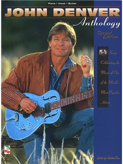 John Denver Anthology Revised Edition Books | Piano and Voice, with Guitar chord boxes