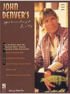 John Denver's Greatest Hits Books | Piano and Voice, with Guitar chord boxes