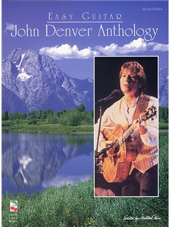 John Denver Anthology: Easy Guitar Revised Edition Books | Melody line, Lyrics & Chord, with guitar chord boxes