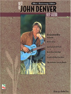 Best Of John Denver Easy Guitar Books | Melody line, Lyrics & Chord, with guitar chord boxes