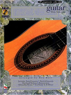 39 Progressive Solos For Classical Guitar Book 2 Books and CDs | Guitar Tab, Classical Guitar