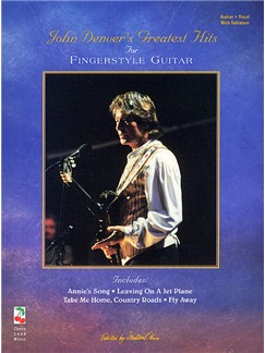 John Denver's Greatest Hits For Fingerstyle Guitar Books | Guitar Tab, with chord symbols
