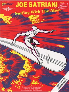 Play It Like It is Guitar: Joe Satriani - Surfing With The Alien Books | Guitar Tab, with chord symbols