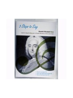 3 Steps To Sing: Handel Messiah (DVD/2CDs)  - Bass Voice CDs and DVDs / Videos | Bass Voice