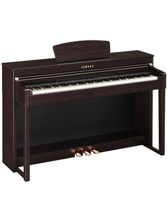 yamaha clp 430 clavinova digital piano dark rosewood. Black Bedroom Furniture Sets. Home Design Ideas