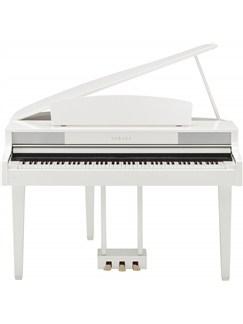 Yamaha: CLP-465GPWH Clavinova Digital Piano (Polished White) Instruments | Digital Piano