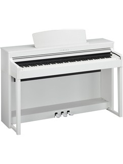 Yamaha: CLP-470 Clavinova Digital Piano (White) Instruments | Digital Piano