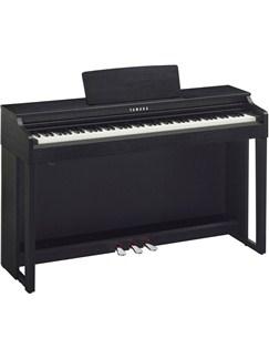 Yamaha Clavinova CLP525B Digital Piano In Black Walnut Finish Instruments | Digital Piano
