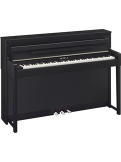 Yamaha CLP585B Clavinova Digital Piano: Black Walnut Instruments | Digital Piano