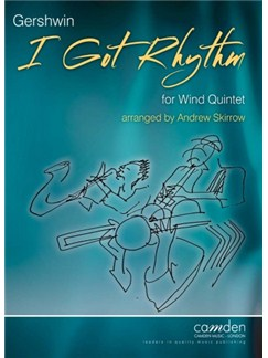 George Gershwin: I Got Rhythm Books | Wind Quintet