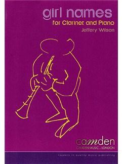 Jeffery Wilson: Girl Names Books | Clarinet, Piano Accompaniment