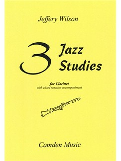 Three Jazz Studies Books | Clarinet