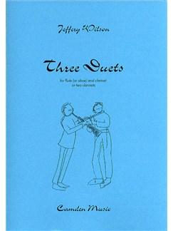 Jeffery Wilson: Three Duets Books | Clarinet, Flute