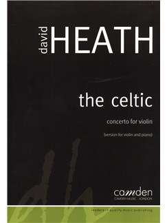 David Heath: The Celtic - Concerto For Violin Books | Violin, Piano Accompaniment