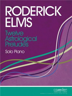 Roderick Elms: Twelve Astrological Preludes for Solo Piano Books | Piano