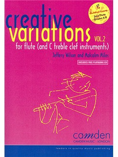 Creative Variations - Volume 2 (Flute) Books and CDs | Flute