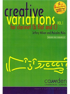 Creative Variations For Clarinet Volume 1 Books and CDs | Clarinet