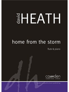David Heath: Home From The Storm Books | Flute, Piano Accompaniment