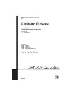 George Gershwin: Gershwin Showcase - 3-Part Mixed Books   SAB, Piano Accompaniment