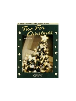Two For Christmas - 16 Duets For E Flat Instruments Books | E Flat Instruments (Duet)