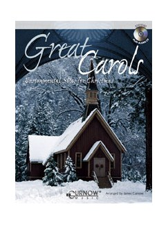 Great Carols: Arr. James Curnow - Flute/Oboe/Mallets (+cd) Books and CDs | Flute, Oboe