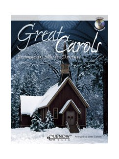 Great Carols: Arr. James Curnow - Clarinet/Tenor Sax (+cd) Books and CDs | Clarinet