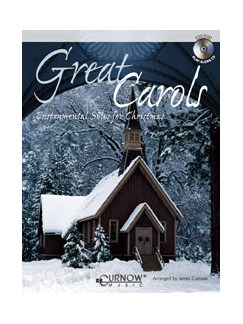 Great Carols: Arr. James Curnow - Alto Sax (Book/CD) Books and CDs | Alto Saxophone