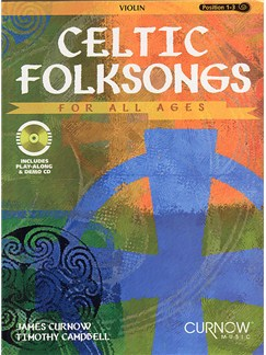 Celtic Folksongs For All Ages - Violin Books and CDs | Violin, Piano Accompaniment