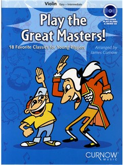 Play The Great Masters (Violin) Books and CDs | Violin