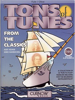 Tons Of Tunes From The Classics (Flute/Oboe) Books and CDs | Flute, Oboe