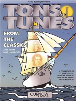 Tons Of Tunes From The Classics (Piano Accompaniments) Books | Piano Accompaniment