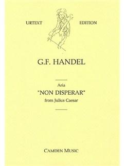 George Frideric Handel: Non Disperar (Voice & Strings) Books | Voice