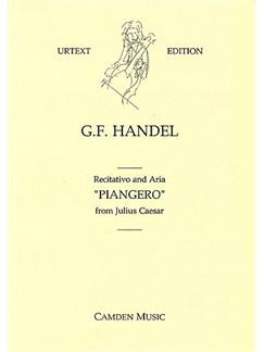 G.F. Handel: Piangero (Julius Caesar) Books | Flute, Violin, Continuo, Mezzo-Soprano