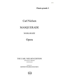Carl Nielsen: Maskarade / Masquerade (Parts) Books | Orchestra
