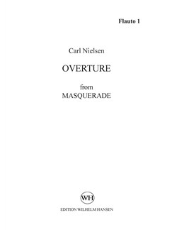 Carl Nielsen: Maskarade / Masquerade - Ouverture (Parts) Books | Orchestra