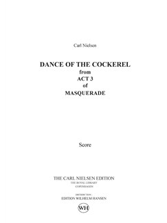 Carl Nielsen: Dance Of The Cockerel / Hanedans (Score) Books | Orchestra