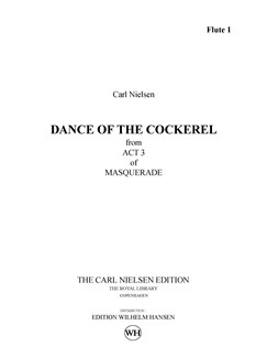 Carl Nielsen: Dance Of The Cockerel / Hanedans (Parts) Books | Orchestra