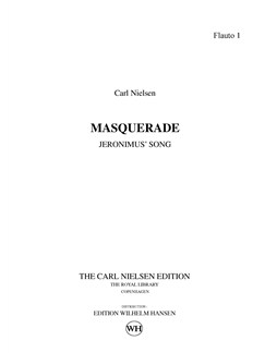 Carl Nielsen: Maskarade / Masquerade - Jeronimus' Song (Parts) Bog | Orkester