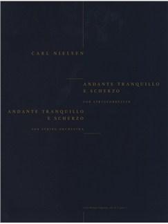 Carl Nielsen: Andante Tranquillo E Scherzo (Score) Bog | Strygeorkester