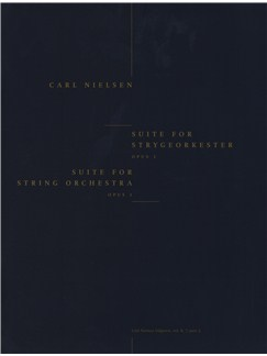 Carl Nielsen: Suite For String Orchestra Op.1 - Score Books | String Orchestra