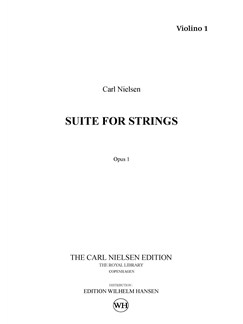 Carl Nielsen: Suite For String Orchestra Op.1 (Parts) Books | String Orchestra