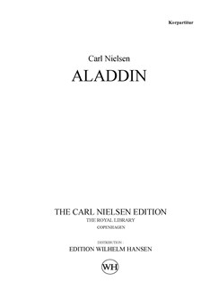 Carl Nielsen: Aladdin Op. 34 (Choral Score) Books | SATB