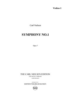 Carl Nielsen: Symphony No.1 in G Minor, Op.7 (Parts) Books | Orchestra